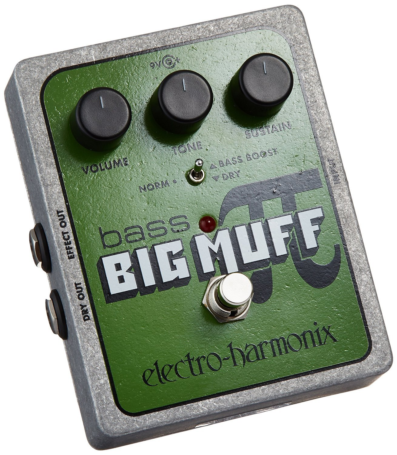 Electro Harmonix Bass Big Muff Distortion Pedal Musical Pi Effect Instruments