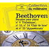 Beethoven : Sonates Pour Piano n°8, 13, 14 & 23