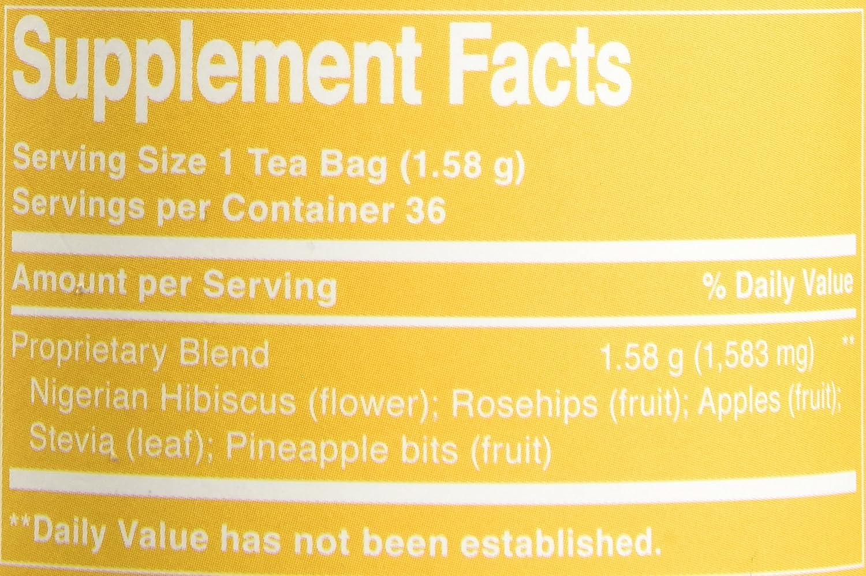 Amazon The Republic Of Tea Pineapple Lychee Hibiscus 36