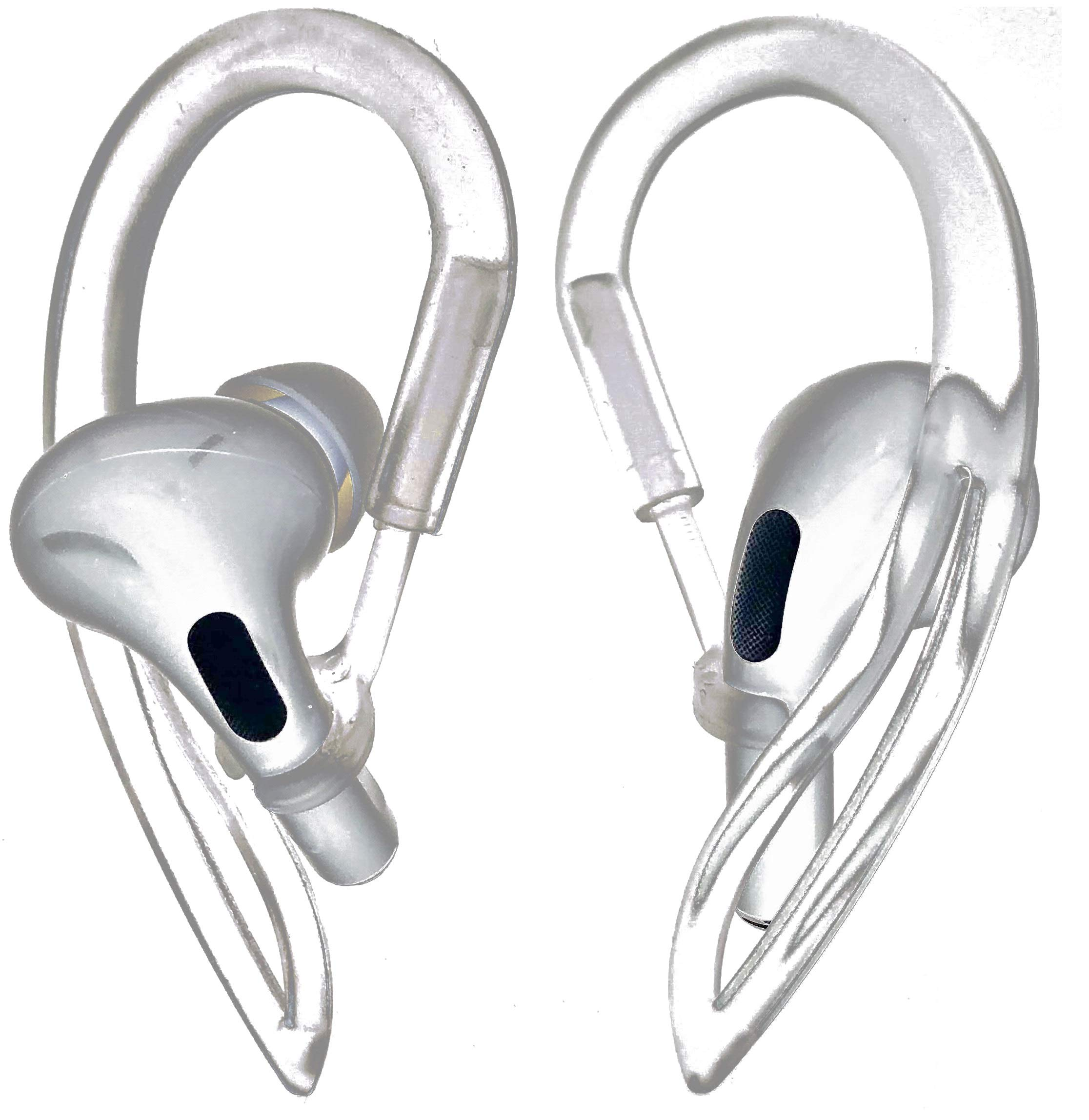 Almohadillas Auriculares AIRPODS PRO CLEAR Ear Hooks