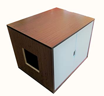 Large Cat Litter Box Cabinet