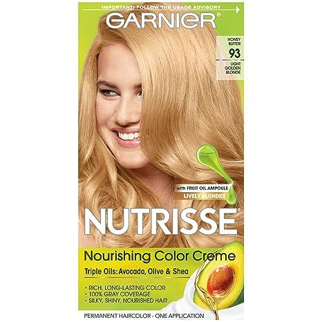 Garnier hair color golden blonde