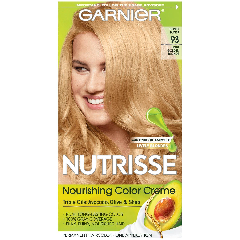 Amazon Garnier Nutrisse Nourishing Hair Color Creme 93 Light