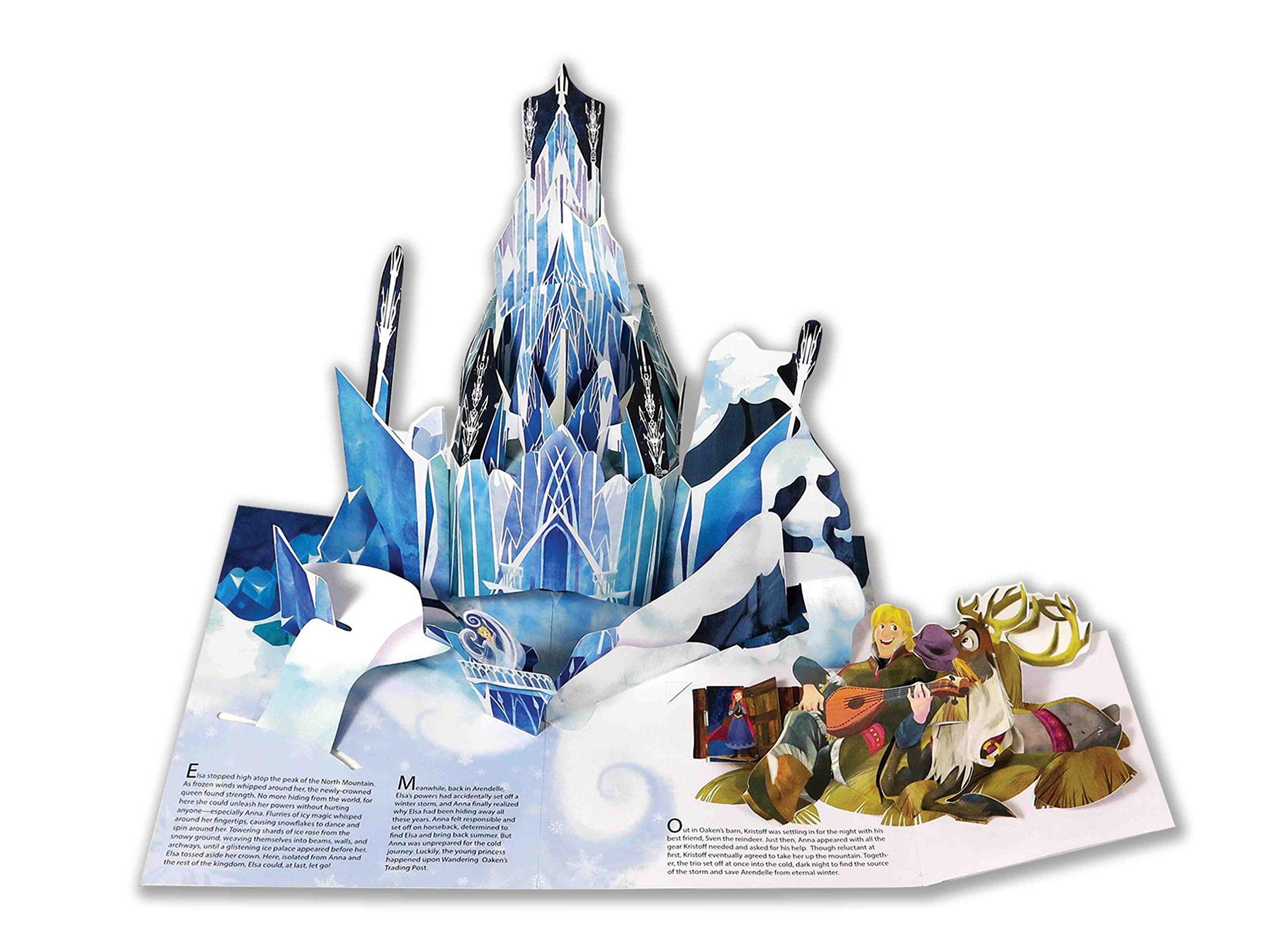 frozen pop up book