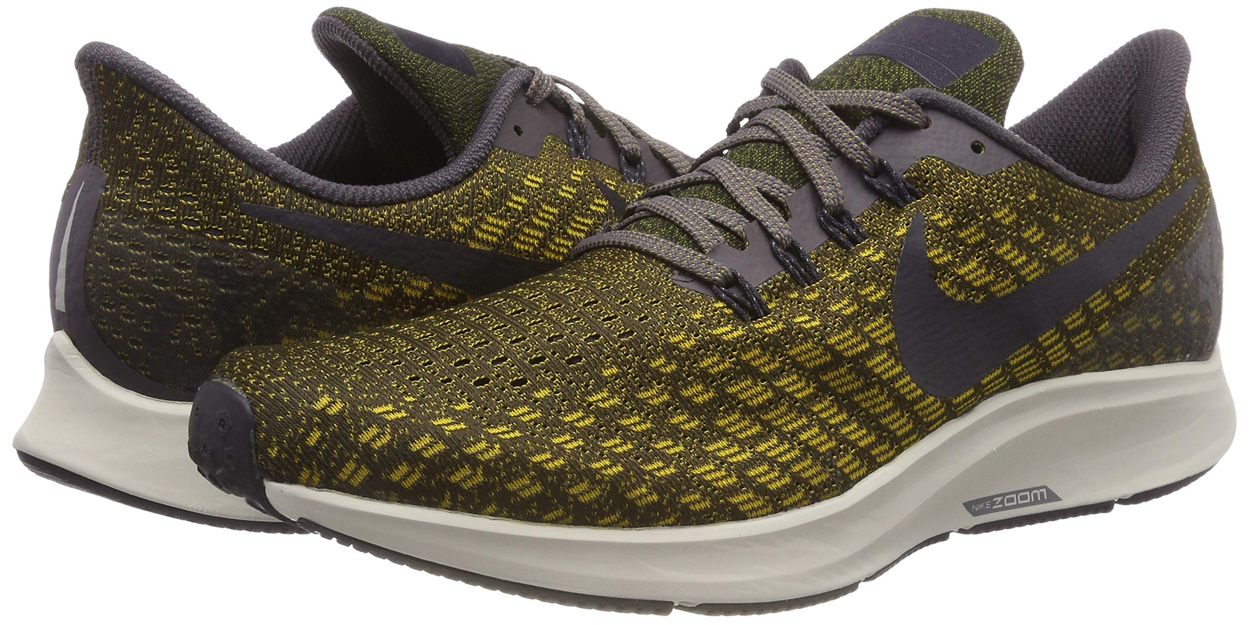 NIKE Men's Air Zoom Pegasus 35 Running Shoes (6, Olive) by Nike (Image #5)