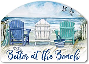 Yard Design Studio M Ocean View Decorative Yard Sign Magnet, Made in USA, Superior Weather Durability, 14 x 10 Inches