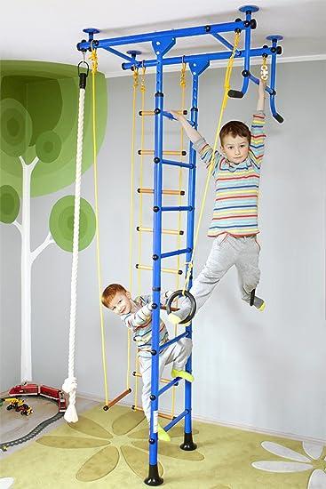 Nirosport Fittop M1 Indoor Klettergerüst Für Kinder Sprossenwand Für