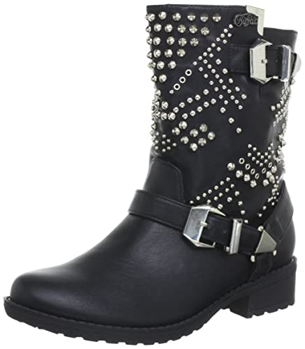 buy popular 5503b 2ce5b Buffalo Girl 331457 Leather Pu, Women's Boots