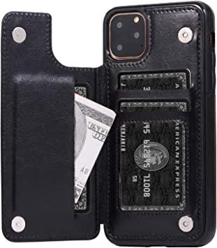 New Pocket PU Leather Business ID Credit Card Holder Case Wallet M/&R