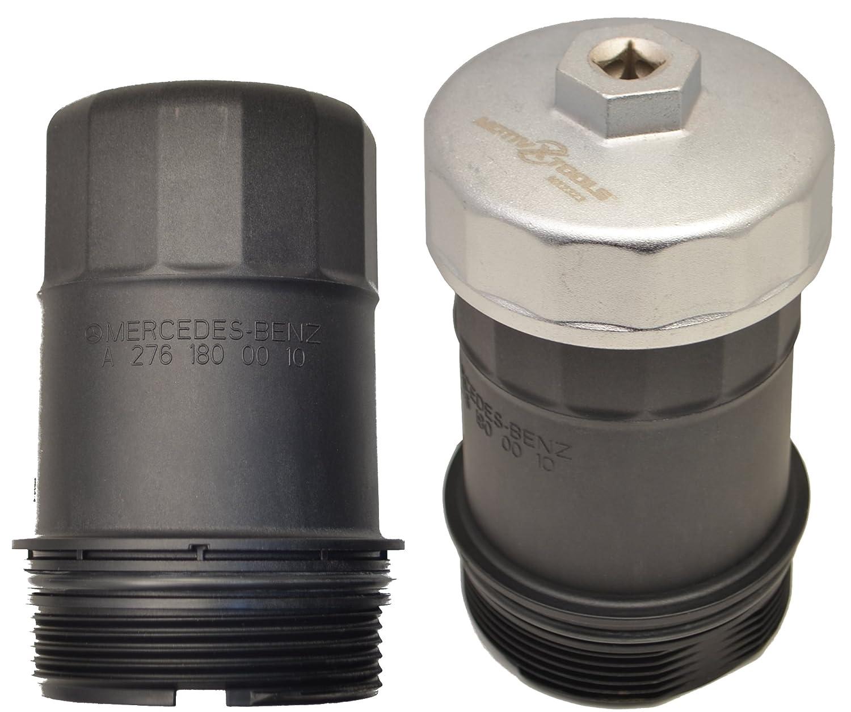Motivx Tools 74mm 14 Flute Oil Filter Wrench for Mercedes Benz, Sprinter,  VW, Audi, Porsche, Volkswagen, Mazda, and More – Also Fits Select Mobil1,