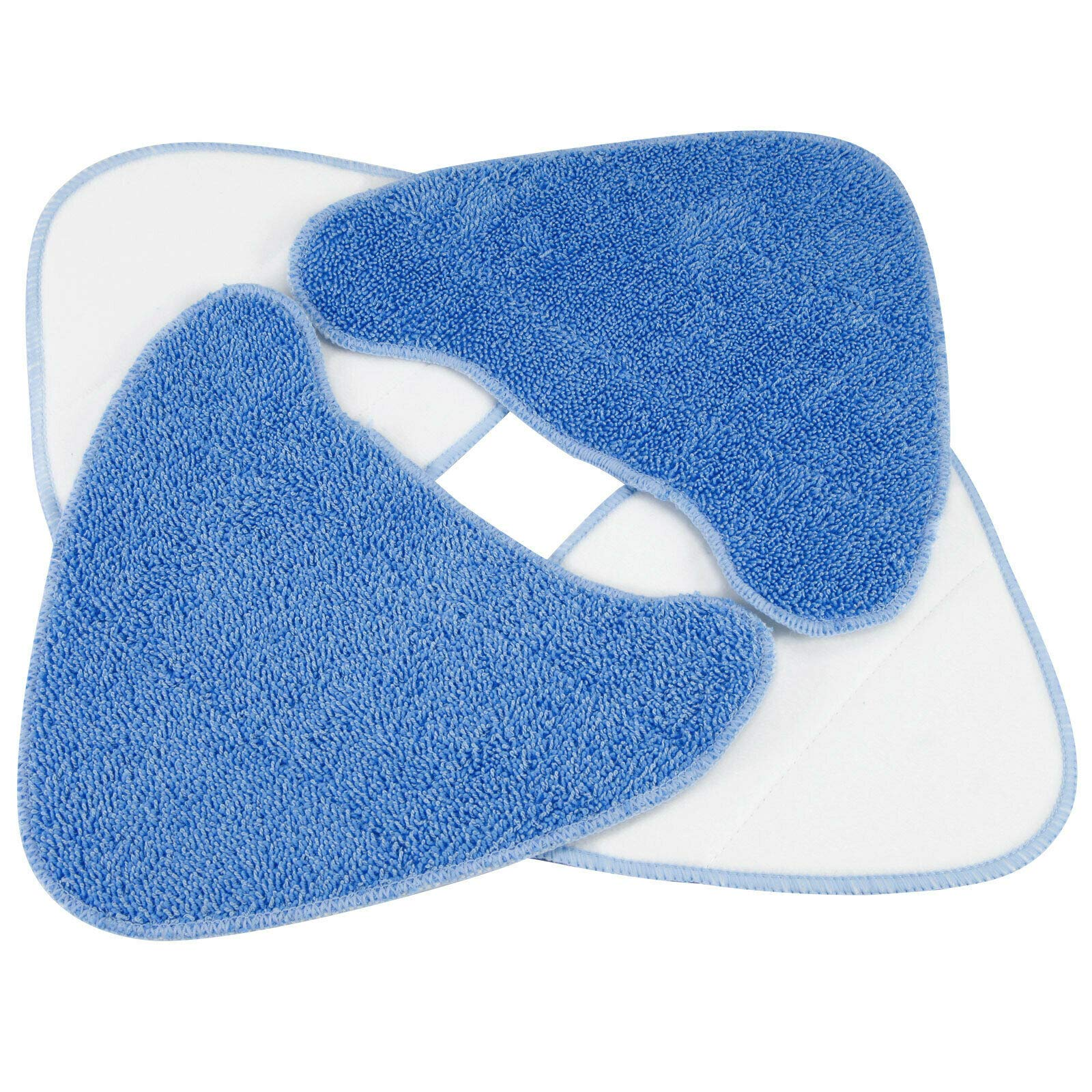 Lovely999 New Microfibre Steam Mop Washable Replacement Pads Cloth Pads to fit Vax Type 1 Vax Models Pack of 4