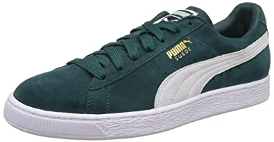 Puma - Chaussure Suede Classic + 356568 - 93 Vert - Couleur Vert - Taille 44 yJWlVG4gem