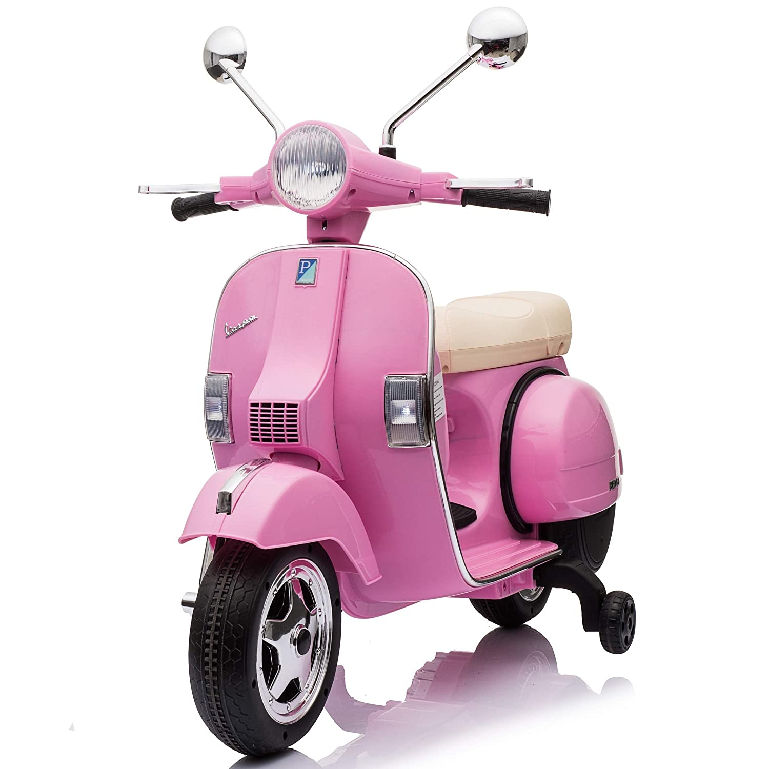 Vespa Electric Scooter >> Outdoortoys Licensed Vespa Px150 12v Ride On Children S