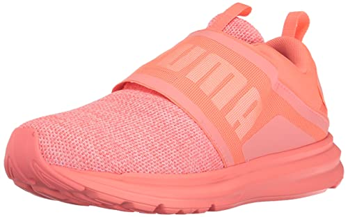 Puma Women s Enzo Strap Knit Sneaker  Buy Online at Low Prices in ... 3d0ca498a
