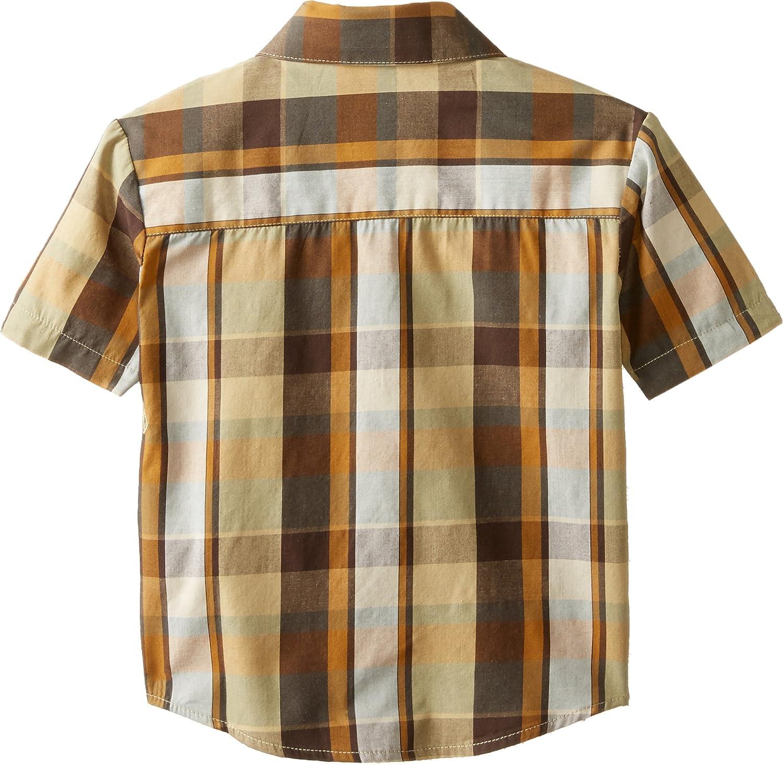 Volcom Little Boys Parson Short Sleeve Shirt