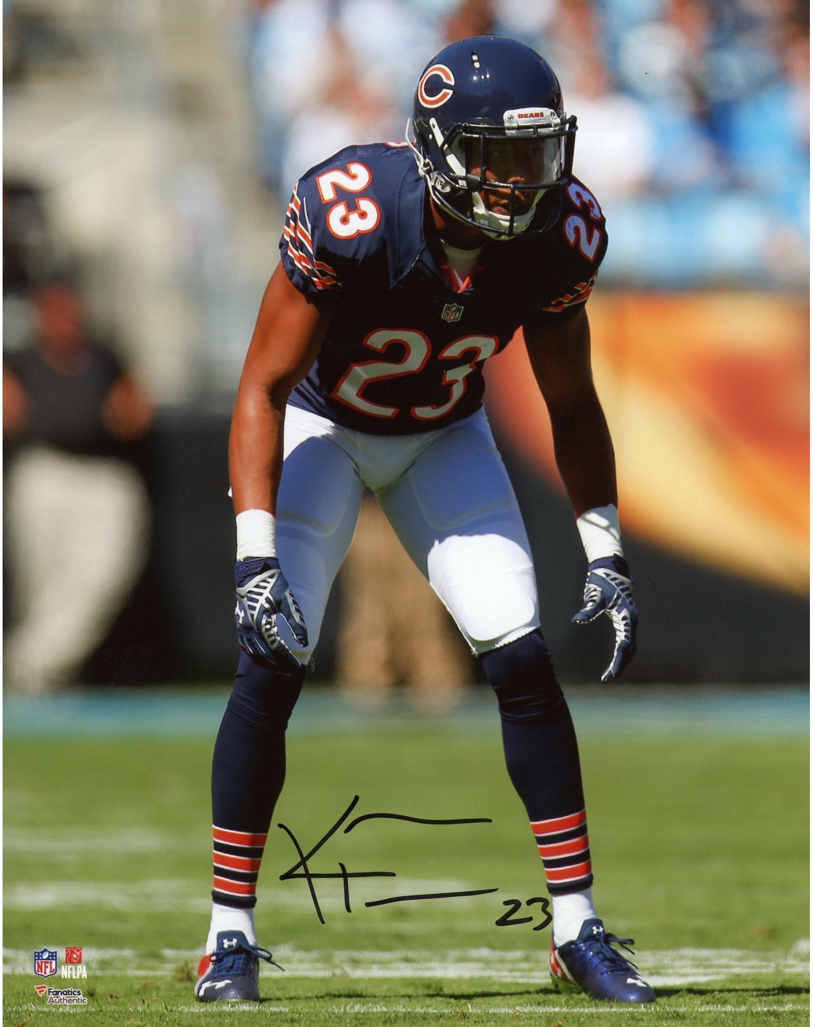 "Kyle Fuller Chicago Bears Autographed 8"" x 10"" Stance Photograph Fanatics Authentic Certified Autographed NFL Photos"