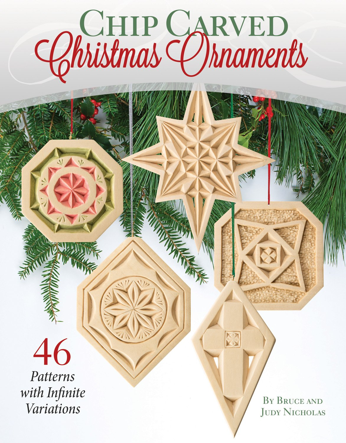 photograph about Printable Chip Carving Patterns referred to as Chip Carved Xmas Ornaments: 20 Designs with Countless