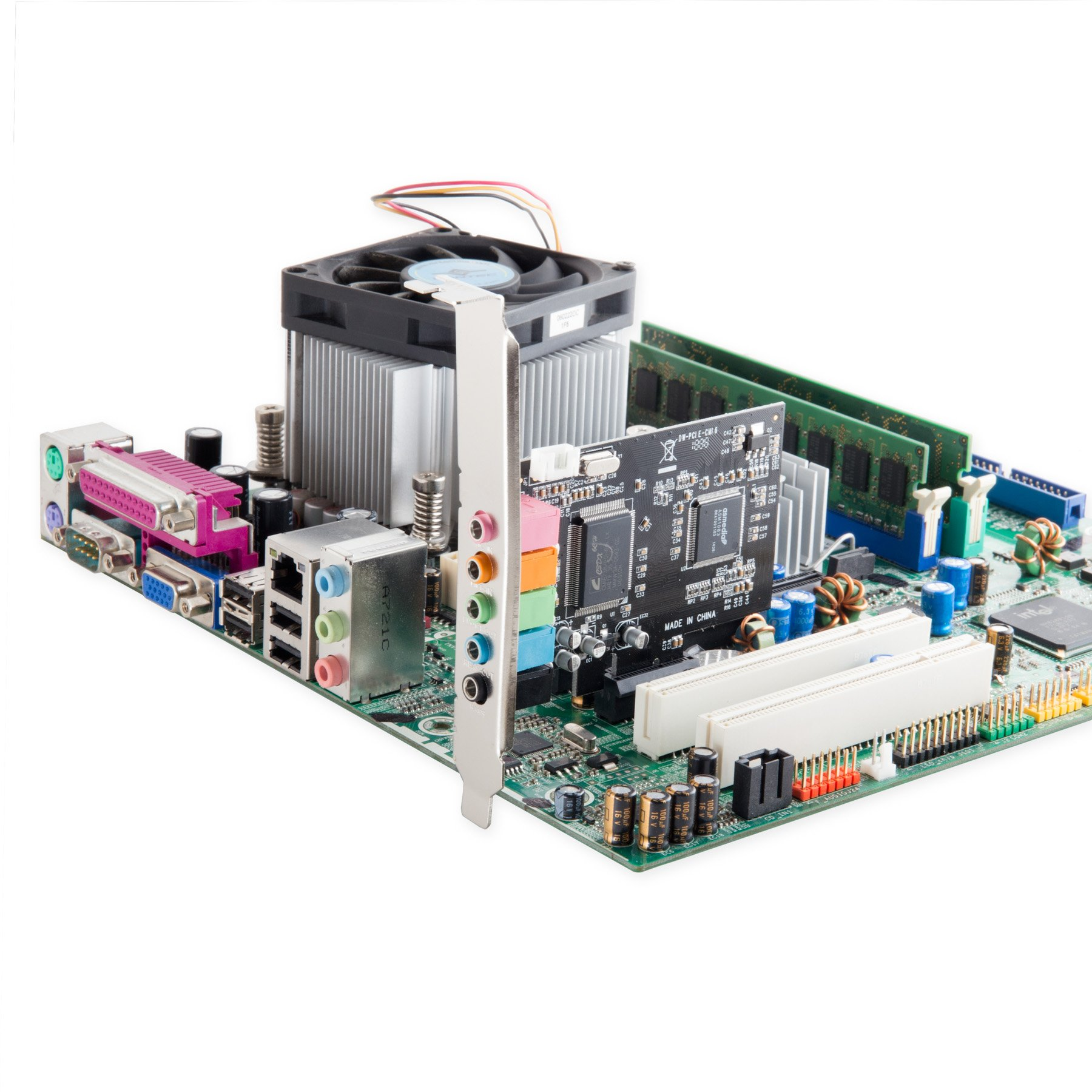 Syba IO Crest 5.1 Channel PCIe X1 Sound Card Sound Cards SI-PEX63096 by Syba (Image #4)