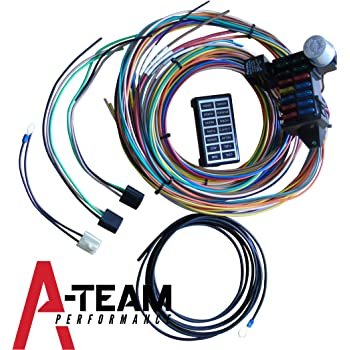 amazon com a team performance 21 standard circuit universal wiring rh amazon com