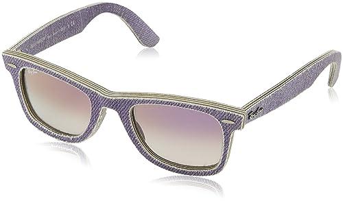 Ray-Ban Originali occhiali da sole Wayfarer in Denim viola RB2140 1167S5 50