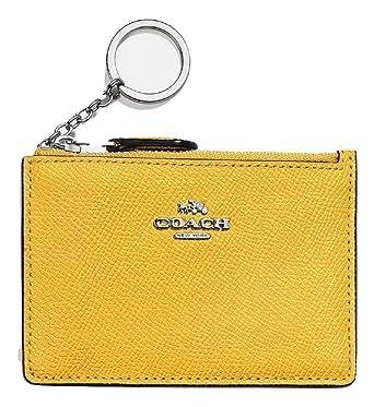 Coach F12186 SVN2F Carteras Mujer Amarillo TGUNI: Amazon.es: Ropa y accesorios