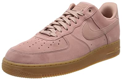 Amazon.com | Nike Men's Air Force 1 07 LV8 Suede Basketball Shoes ...