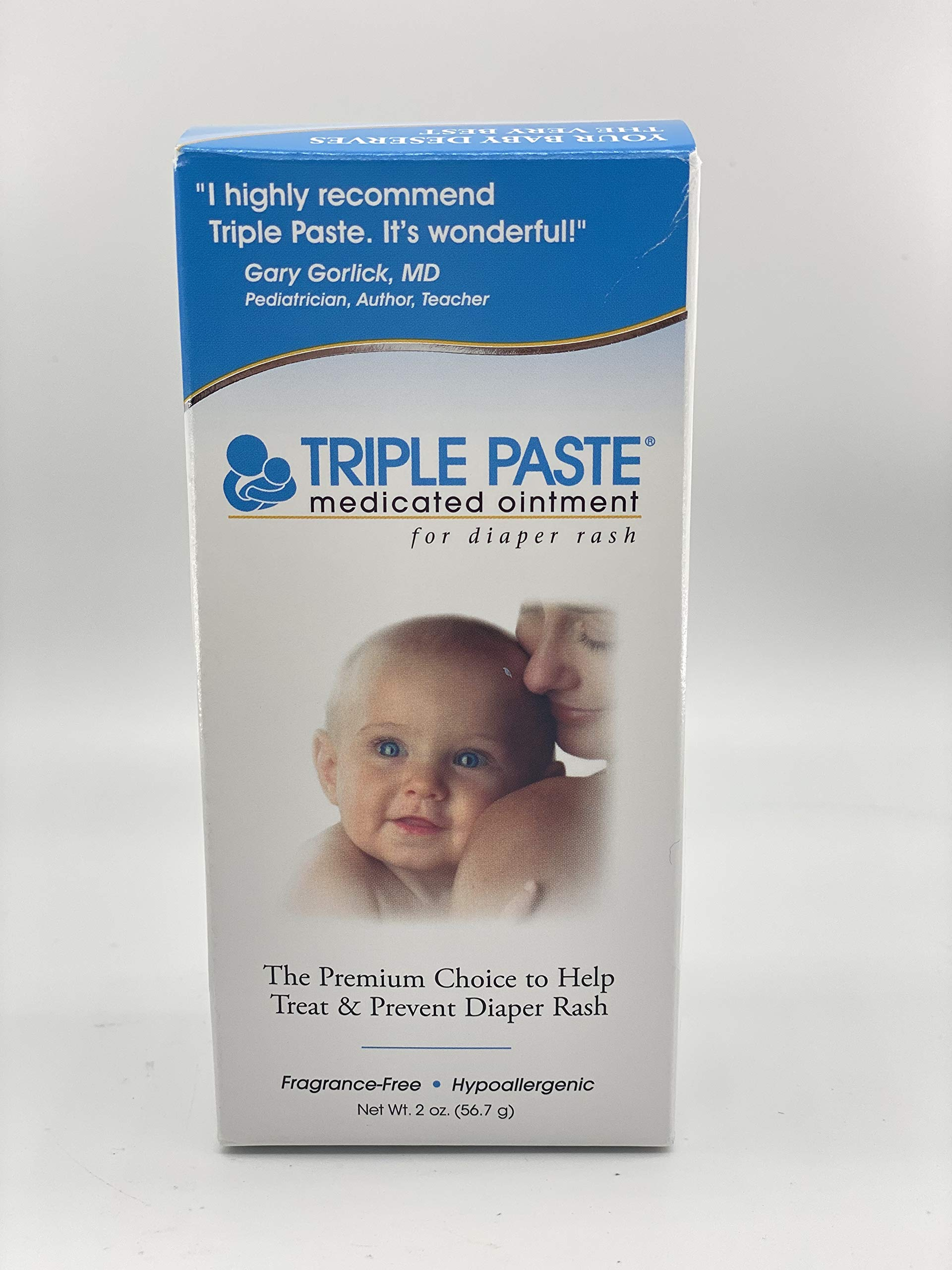 Triple Paste Diaper Rash Ointment – 2oz