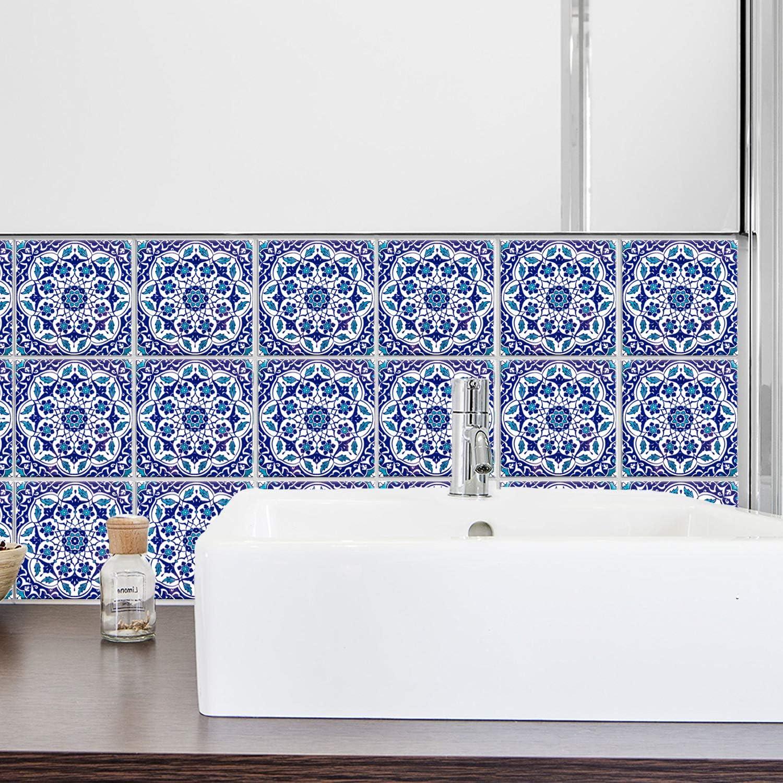 - Kitchen Backsplash Patterned Tiles Taner 20x20 Cm (Pack Of 4 Tiles