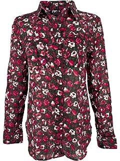 cb4cedb5 Amazon.com: LAUREN RALPH LAUREN Womens Plus Floral Print Ruffled ...