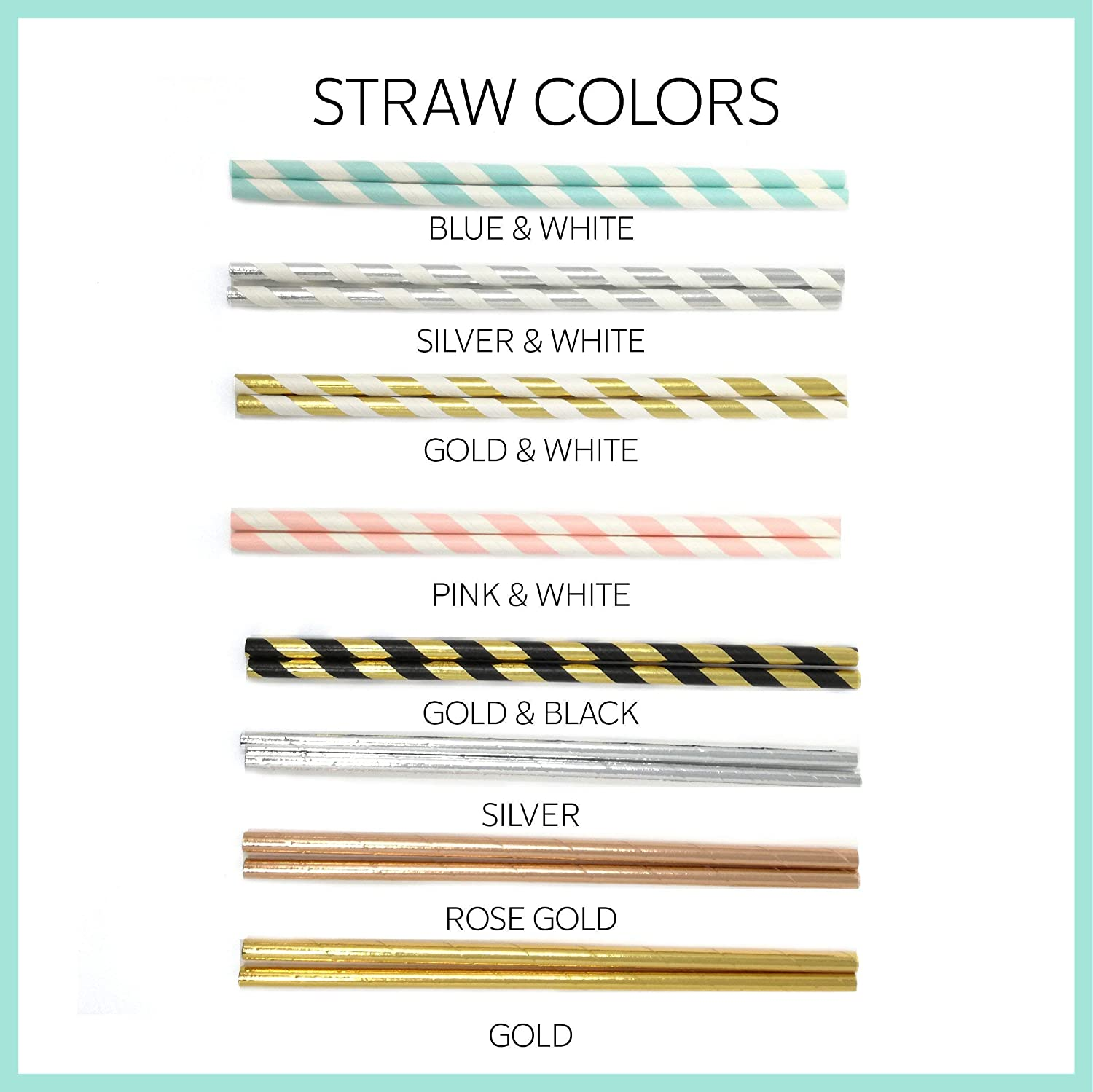 10 pieces First party idea for boys or girls First Birthday Party supplies One straws Kids 1st birthday party decor.