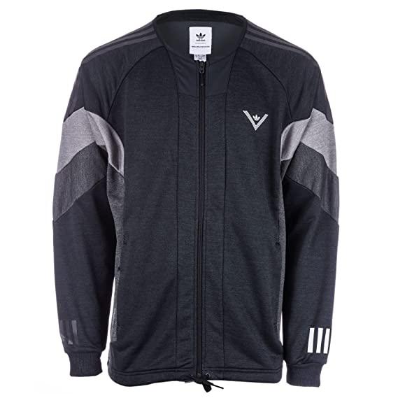 6569e5b8919e adidas Originals Mens Mens White Mountaineering Challenger Track Jacket in  Black