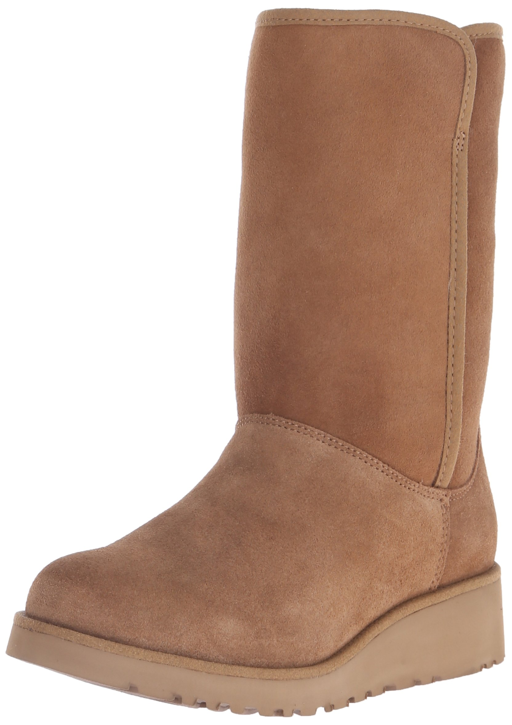 UGG Women's Amie Winter Boot, Chestnut, 8 B US