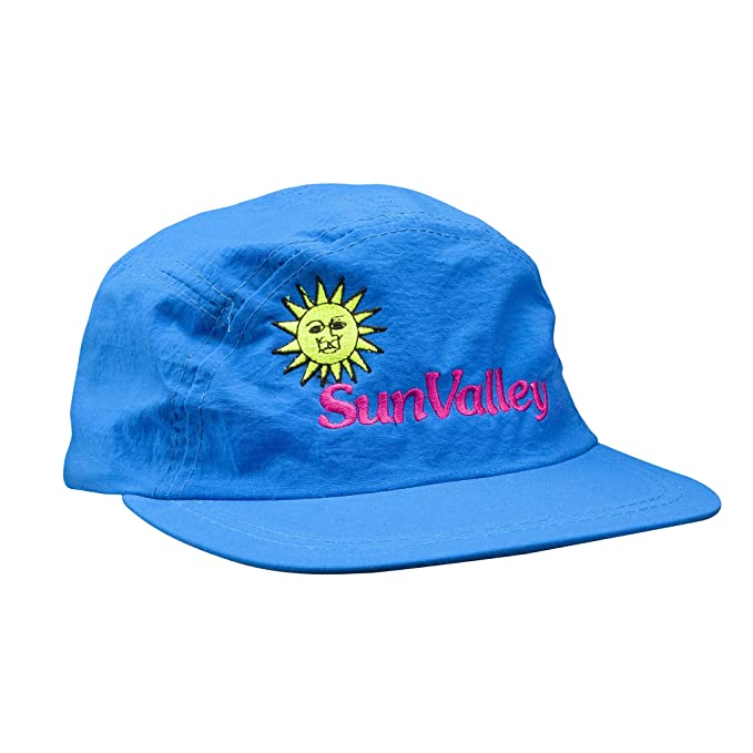 b105c150c16 Image Unavailable. Image not available for. Color  Sun Valley 5-Panel Blue  Vintage Hat
