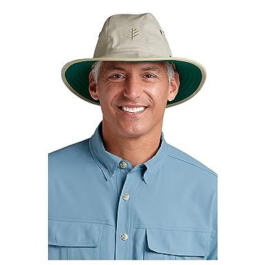 Coolibar Men s Adventure Sun Hat - UPF50+ Sun Protection   Adjustable (Large  Extra Large 7a33502aaeb