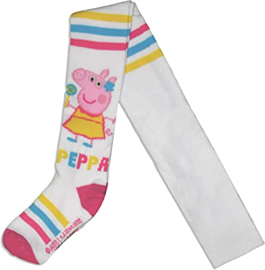 Peppa Pig - Mallas de algodón gruesas para niña: Amazon.es: Ropa y ...