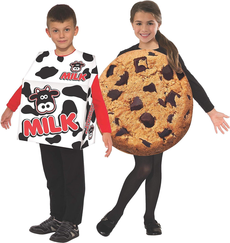 Kid's Milk and Cookie Double Costume Set