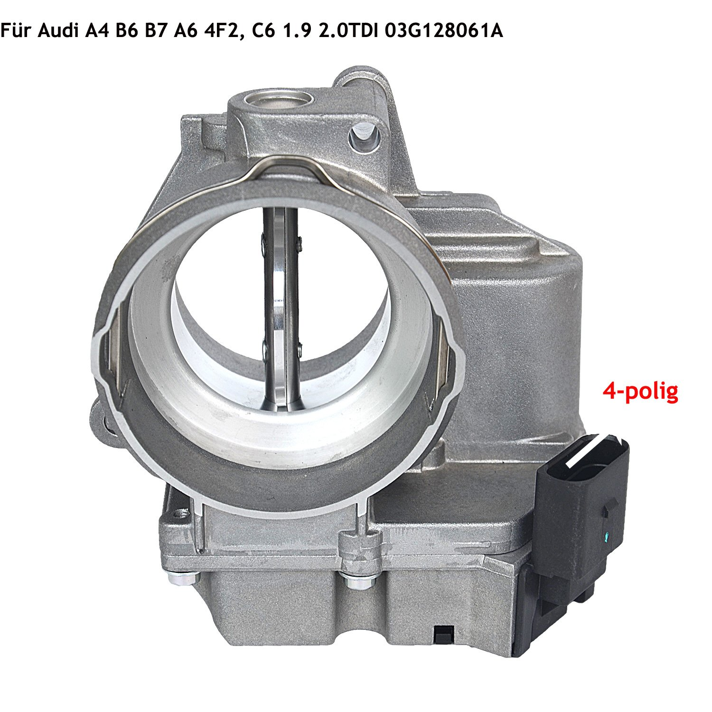 4 poli regola valvola a farfalla portafoglio per Audi VW Skoda Seat 03 g128061 a GELUOXI 7L0616813