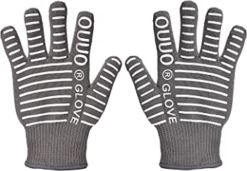 OUUO Heat-Resistant Oven Gloves