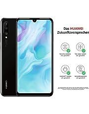 Huawei P30 lite Dual-SIM Smartphone Bundle (6,15 Zoll, 128 GB ROM, 4 GB RAM, Android 9.0) schwarz + Micro SD 16GB Speicherkarte [Exklusiv bei Amazon] - DE Version