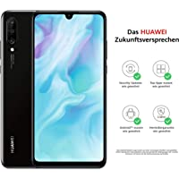 Huawei P30 lite Dual-SIM Smartphone Bundle (6,15 Zoll, 128 GB ROM, 4 GB RAM, Android 9.0) schwarz + SD Karte [Exklusiv bei Amazon] - DE Version