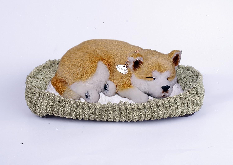 Perfect Petzzz Shiba, The Original Breathing Pet Puppy New Huggable Soft Version Plush Toy Gift Bundle