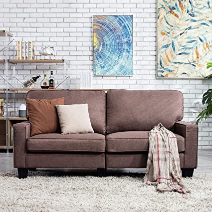 Amazon.com: Fitnessclub 68.5 Inch Loveseat Modern ...