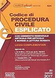 Codice di procedura civile esplicato. Leggi complementari. Ediz. minor. Con aggiornamento online