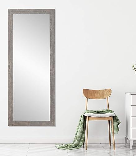 BrandtWorks BM041TS Urban Frontier Barnwood Floor Mirror
