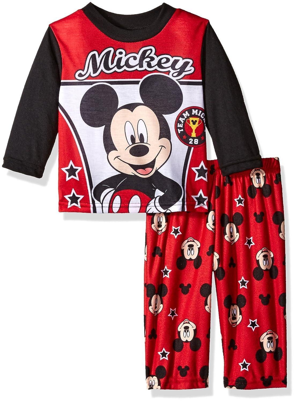 Disney Boys' Mickey 2-Piece Fleece Pajama Set 21MK324ELLDZ