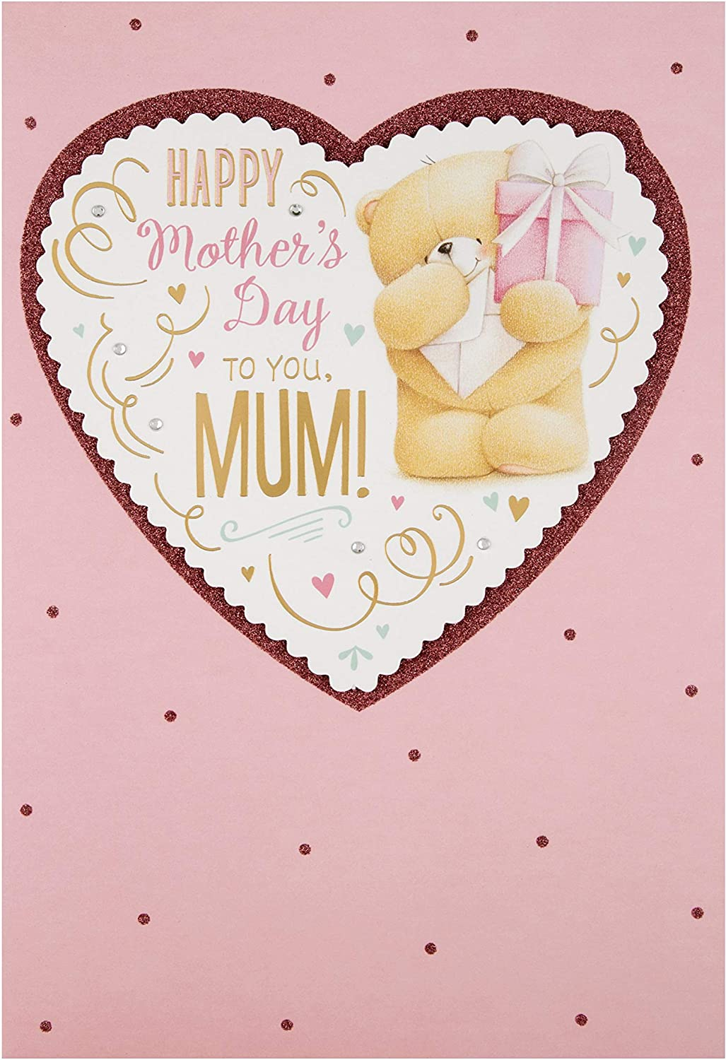 Forever Friends Design Mothers Day Card for Mum from Hallmark