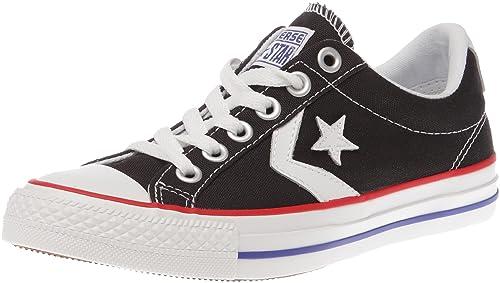 Converse Shoes [Zapatillas Converse] - Star Play EV Ox - 41,5 Negro/ Blanco: Amazon.es: Zapatos y complementos