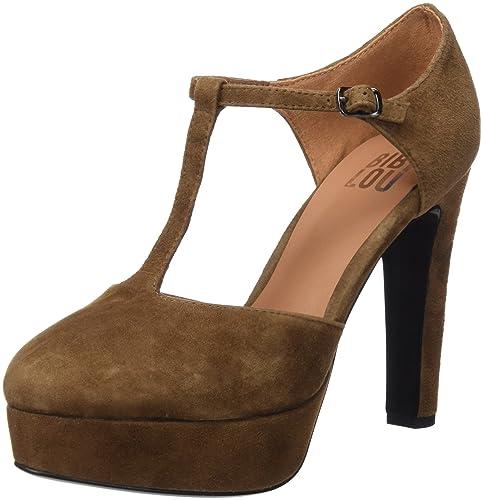 Bibi LOU 656Z30VK, Zapatos, Mujer, Marrón (Cuero), 39 EU Bibi Lou