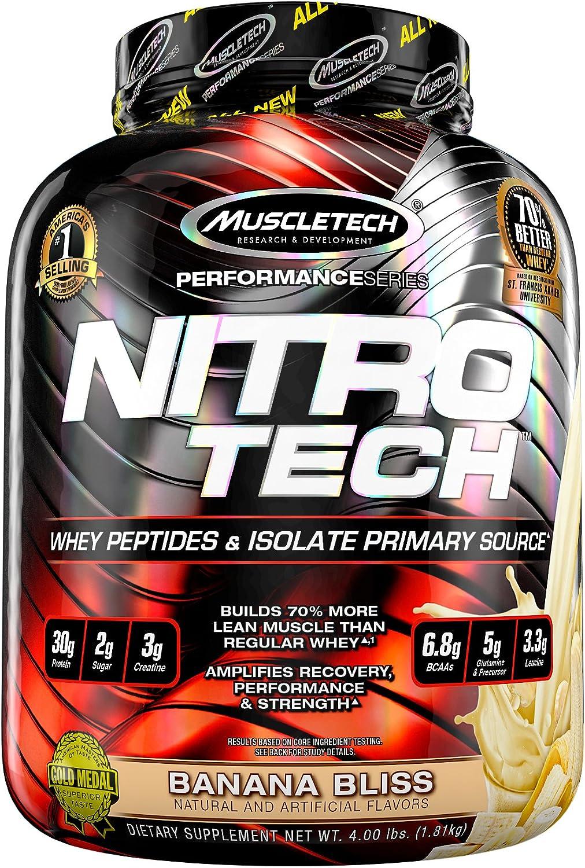 Muscletech Performance Series Nitro-Tech Banana Bliss - 1800 gr