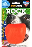 Ruff Dawg Rock Floating Rubber Dog Toy Assorted Neon Colors